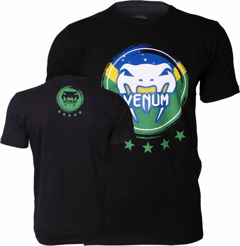 Camisa Camiseta Brasilian Spirit -  Venum Fight