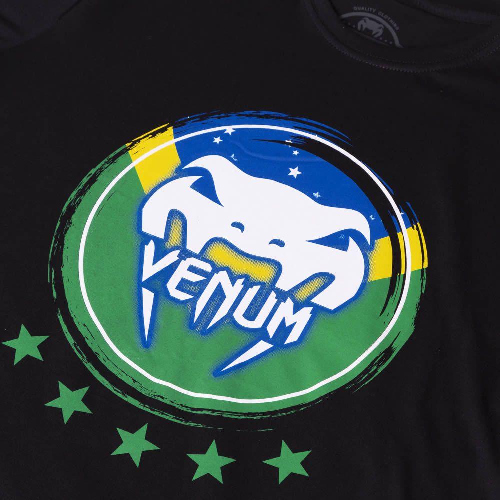 Camisa Camiseta Brasilian Spirit -  Venum Fight  - Loja do Competidor
