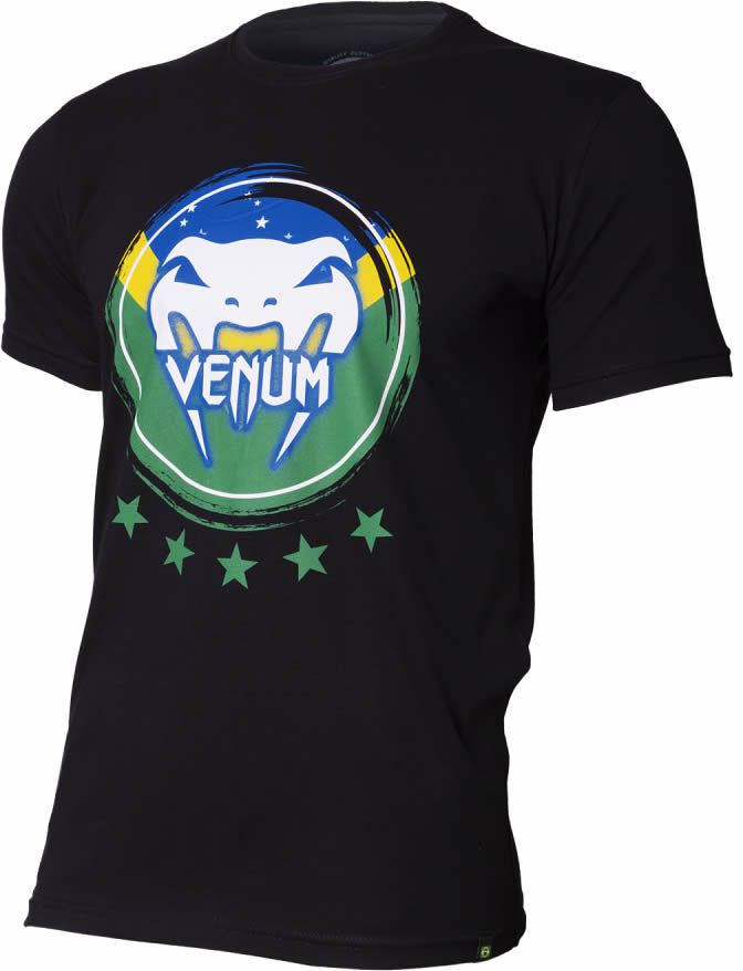 Camisa Camiseta Brasilian Spirit -  Venum Fight  - Loja do Competidor