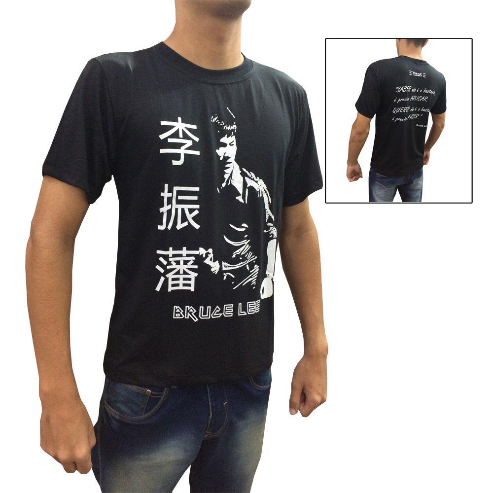 Camisa Camiseta - Bruce Lee - Kunf Fu - Toriuk