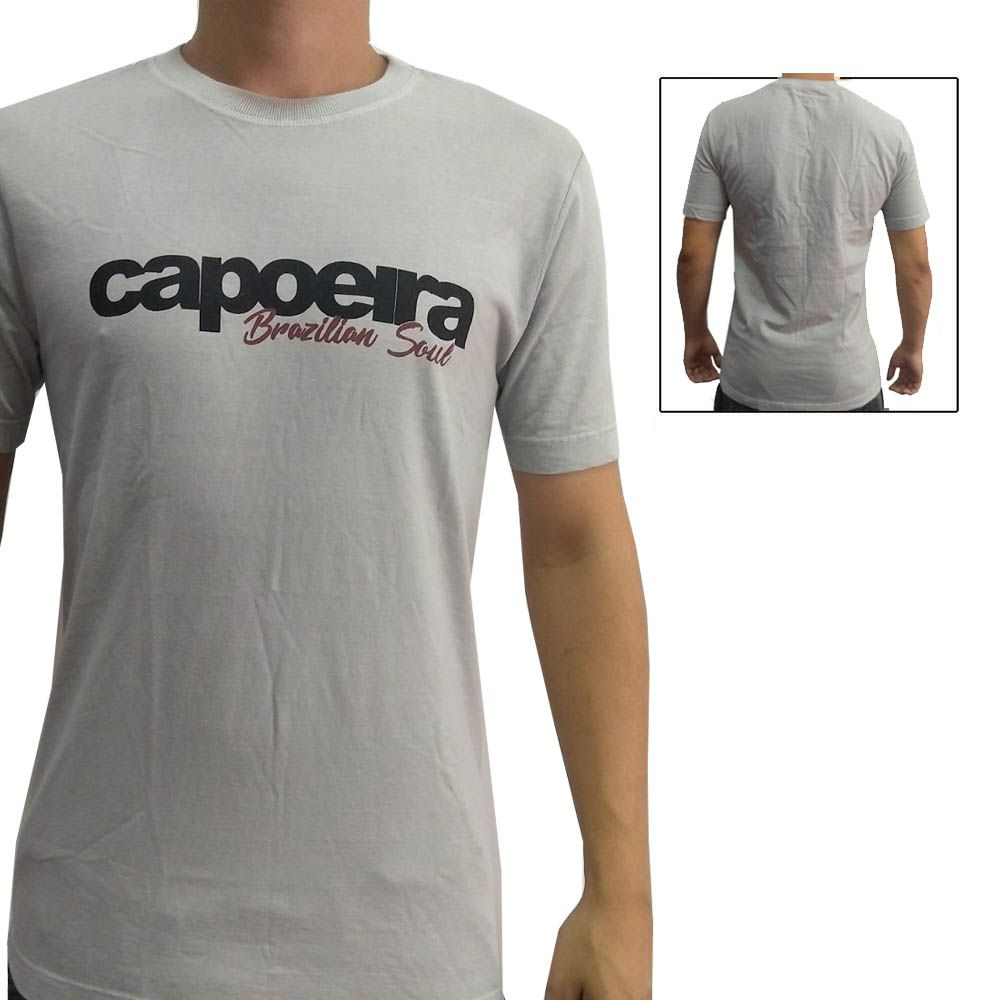 Camisa Camiseta Capoeira - Brazilian Soul - John Brazil