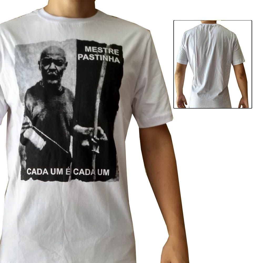 Camisa Camiseta Capoeira - Mestre Pastinha - John Brazil