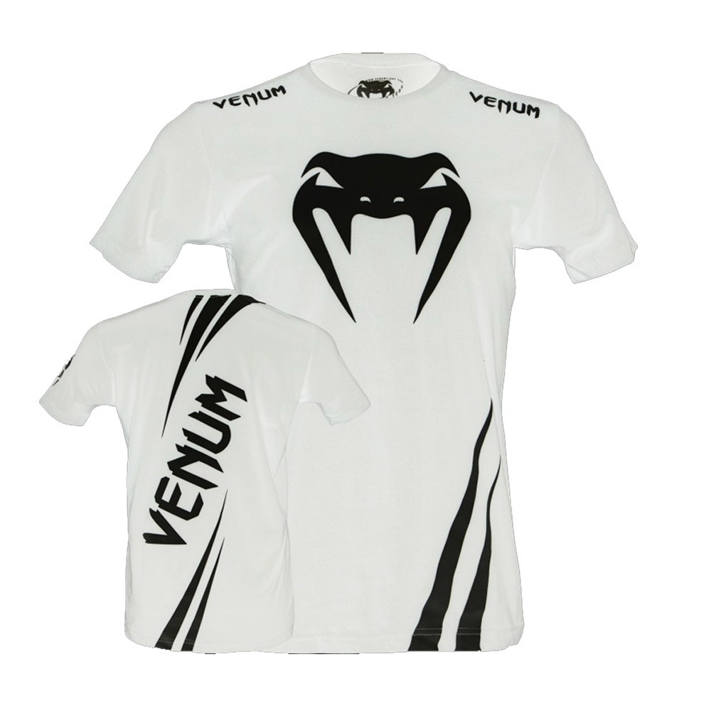 Camisa/Camiseta - Cobra- Branco/Preto - Venum