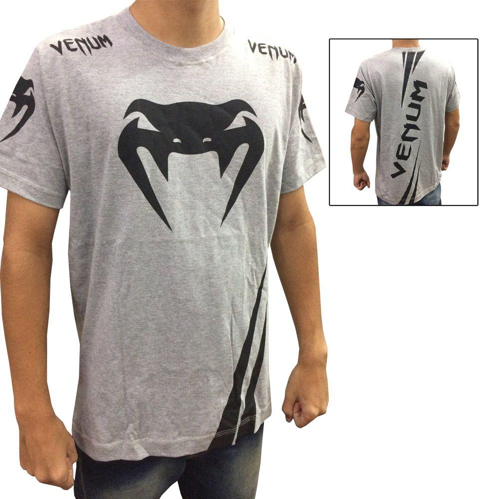Camisa Camiseta - Cobra - Cinza - Venum -