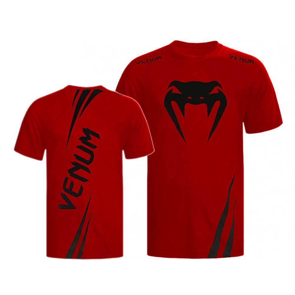 Camisa/Camiseta - Cobra- Vermelho - Venum .