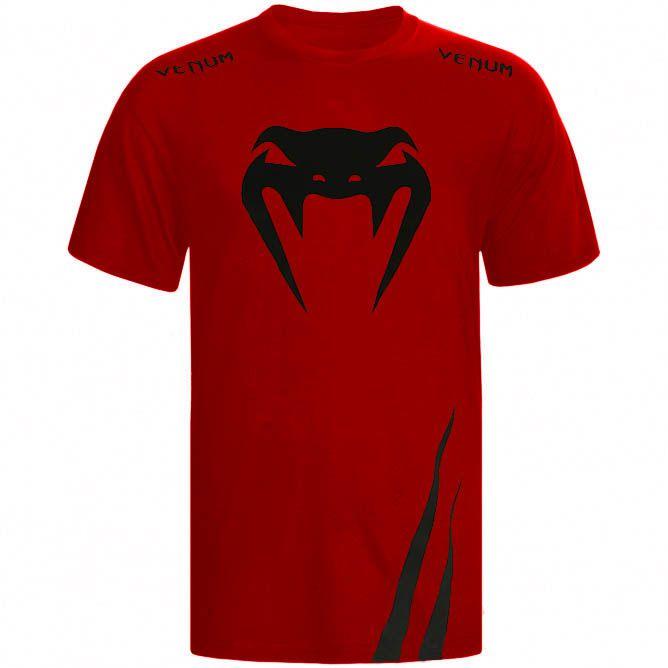 Camisa/Camiseta - Cobra- Vermelho - Venum .  - Loja do Competidor