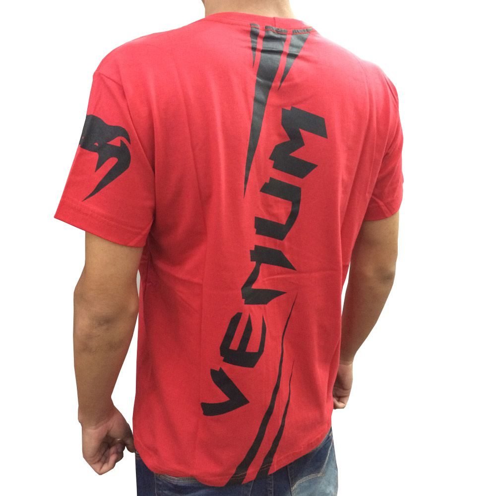 Camisa Camiseta - Cobra - Vermelha - Venum  - Loja do Competidor