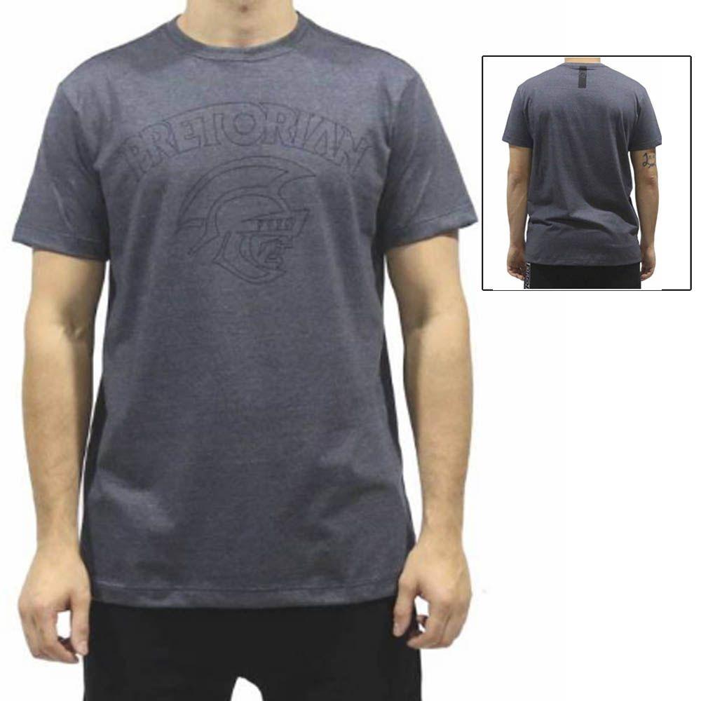 Camisa Camiseta Core Mescla - Cinza - Pretorian
