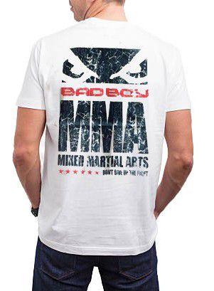 Camisa Camiseta - American Flag USA - Branco- Bad Boy -  - Loja do Competidor