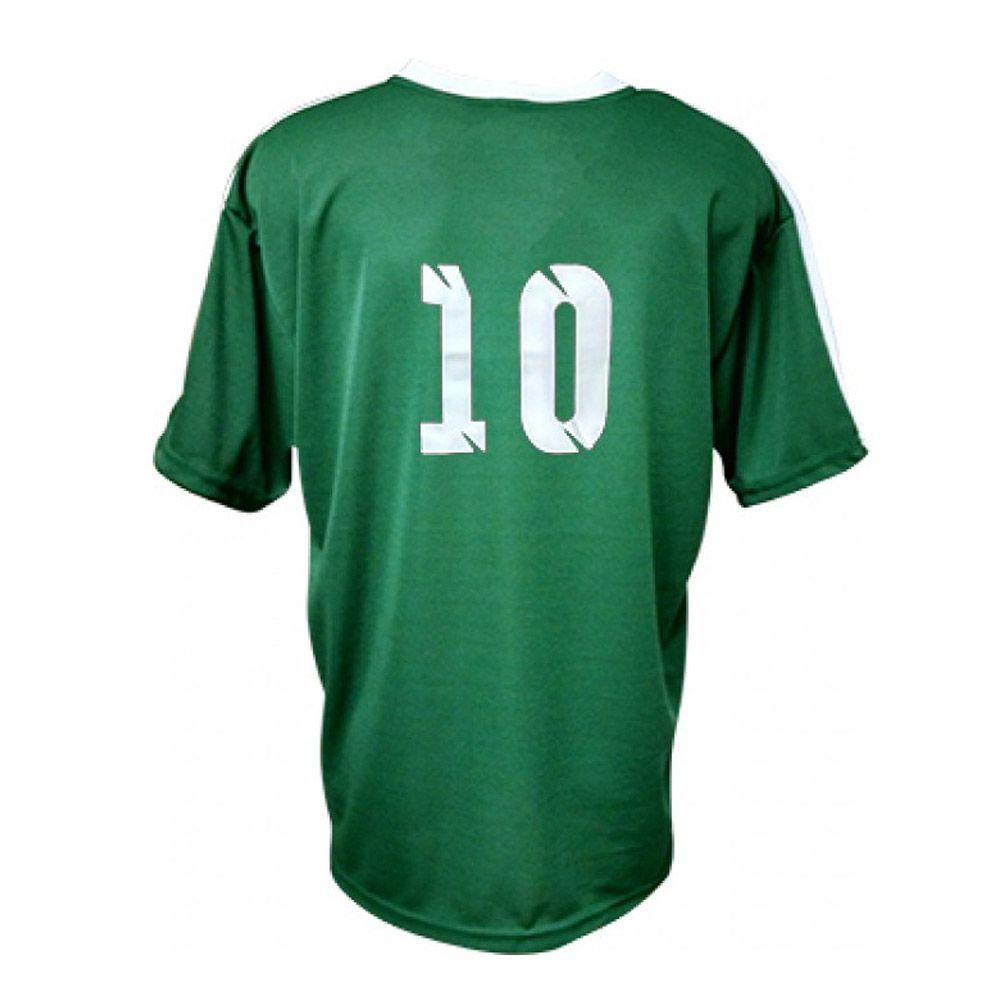 Camisa Camiseta Futebol / Futsal / Volei Arezzo Verde/Branco- Adulto - Kanga  - Loja do Competidor