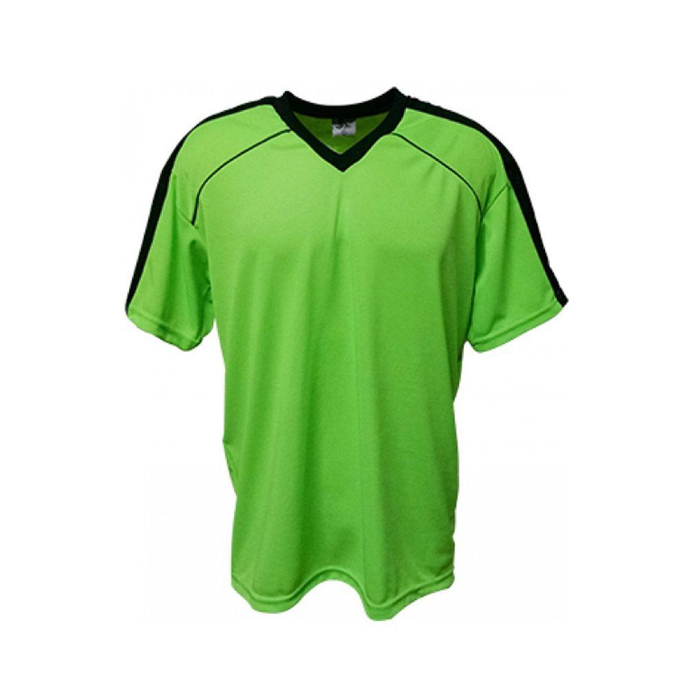Camisa Camiseta Futebol / Futsal / Volei Arezzo Verde/Preto- Adulto - Kanga  - Loja do Competidor