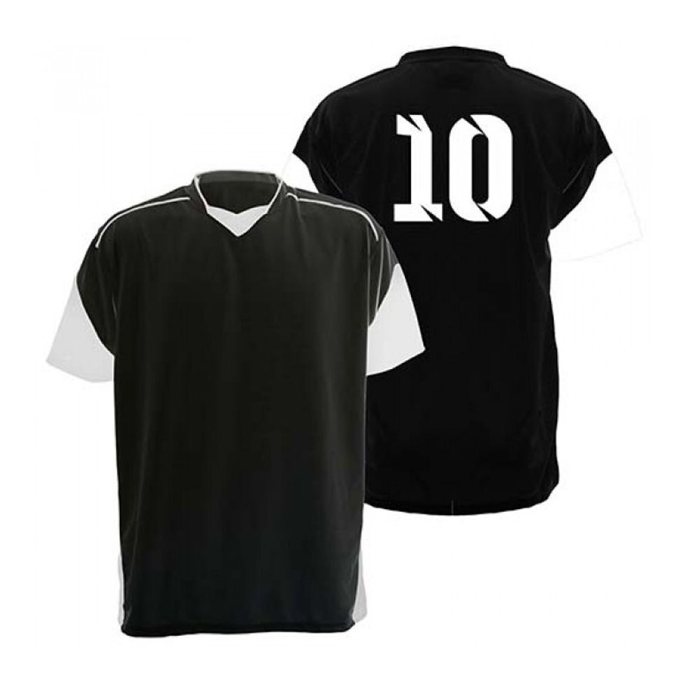 Kit com 18 Camisas Camiseta - Futebol Futsal Volei - Munique - Preto/Branca - Adulto - Kanga  - Loja do Competidor
