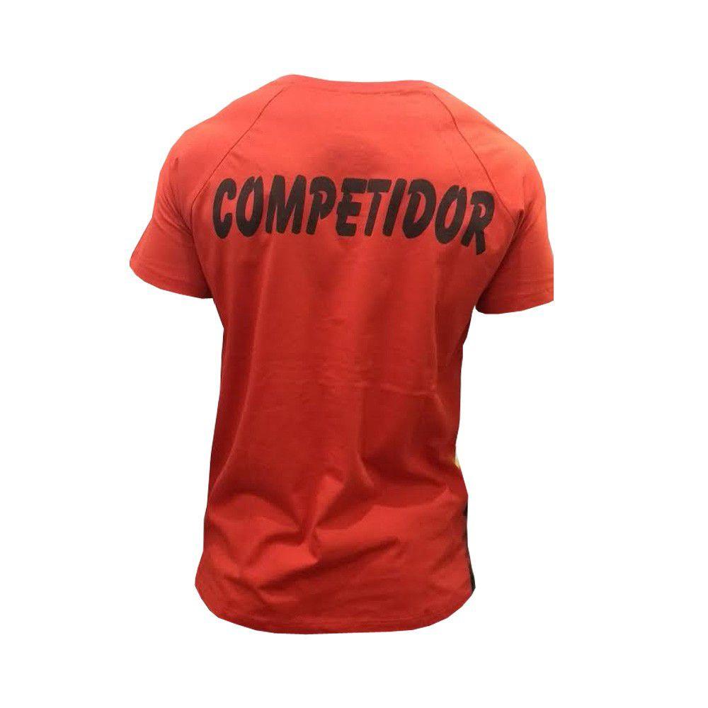 Camisa/Camiseta - Jiu Jitsu em Chamas - Duelo Fight  - Loja do Competidor