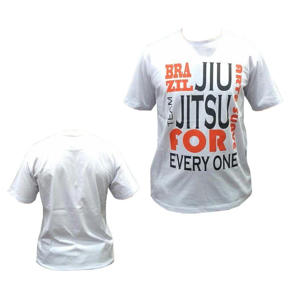 Camisa/Camiseta - Jiu Jitsu for Life - Duelo Fight .