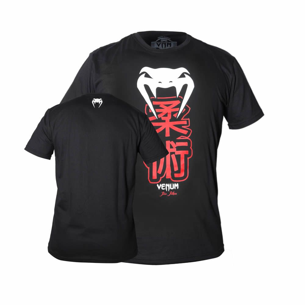 Camisa Camiseta Jiu Jitsu - Kenji Black - Venum
