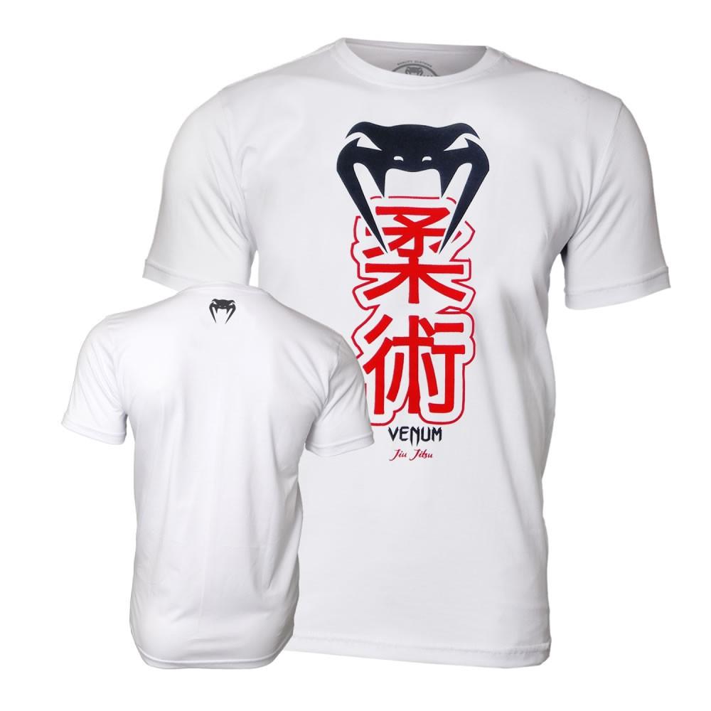 Camisa Camiseta Jiu Jitsu - Kenji Ice Branca - Venum