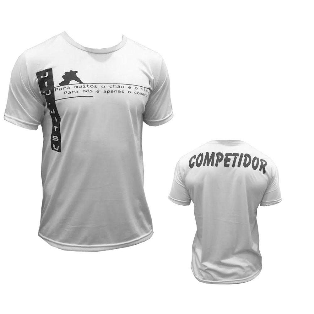 Camisa/Camiseta - Jiu Jitsu - Vem para a Guarda - Branca - Duelo Fight .
