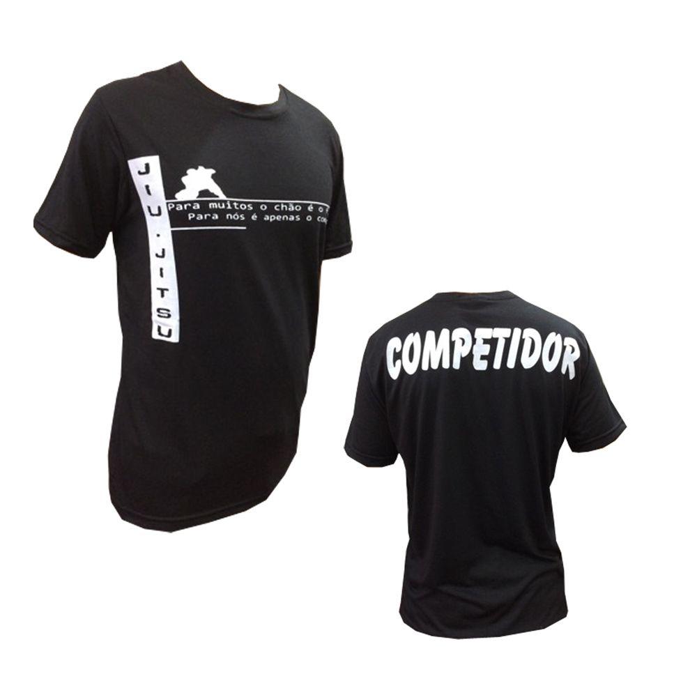 Camisa/Camiseta - Jiu Jitsu - Vem para a Guarda - Preto - Duelo Fight .