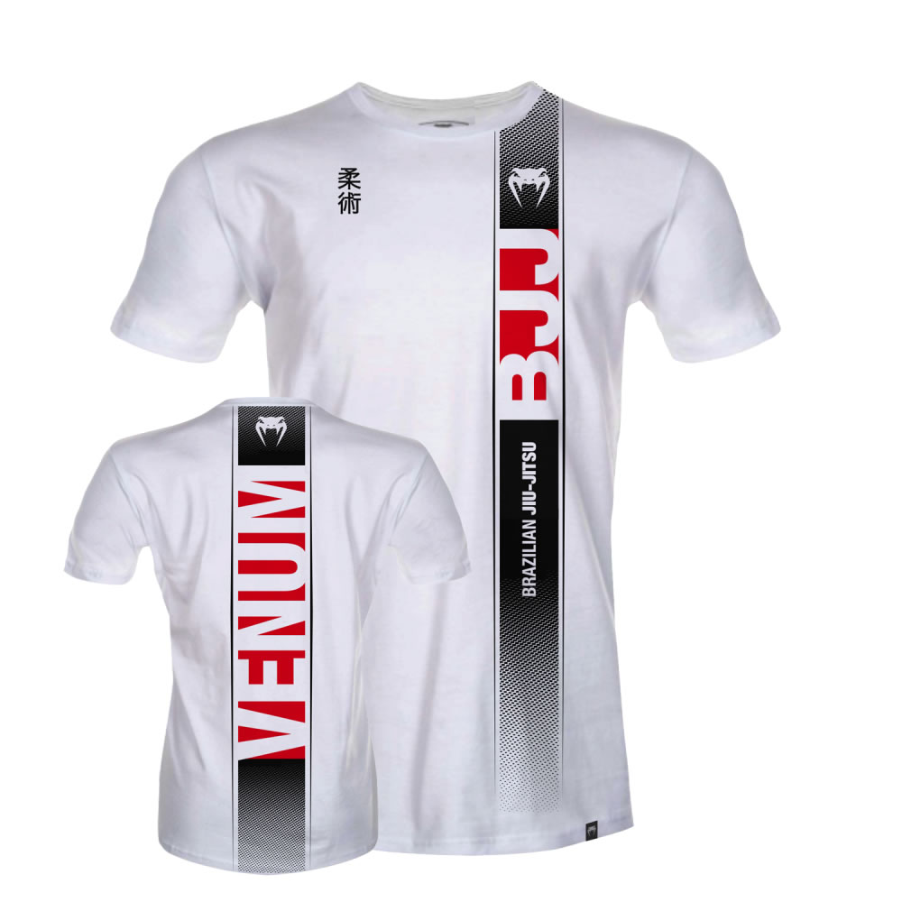 Camisa Camiseta Jiu Jitsu Vertical Ice Branca - Venum  - Loja do Competidor