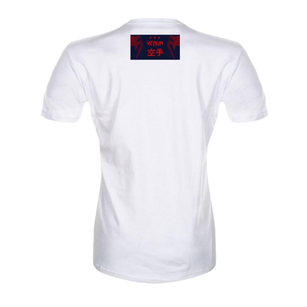 Camisa Camiseta - Karate Bushido Ice - Branca - Venum   - Loja do Competidor