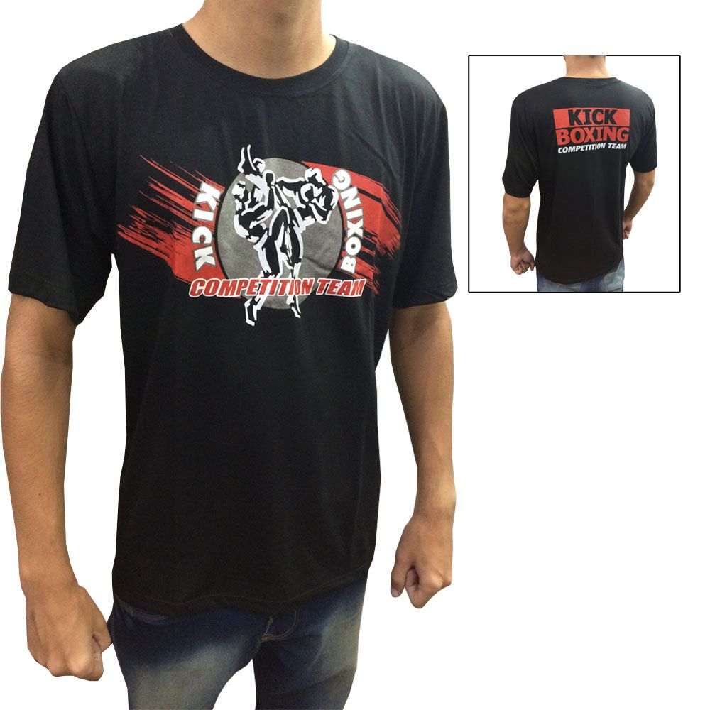 Camisa Camiseta KickBoxing Competition Team - Toriuk -