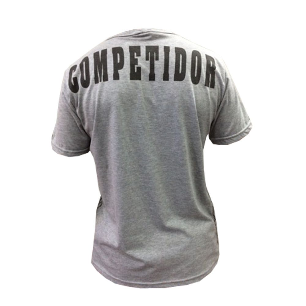 Camisa/Camiseta - Kickboxing Full Contact - Cinza - Duelo Fight  - Loja do Competidor