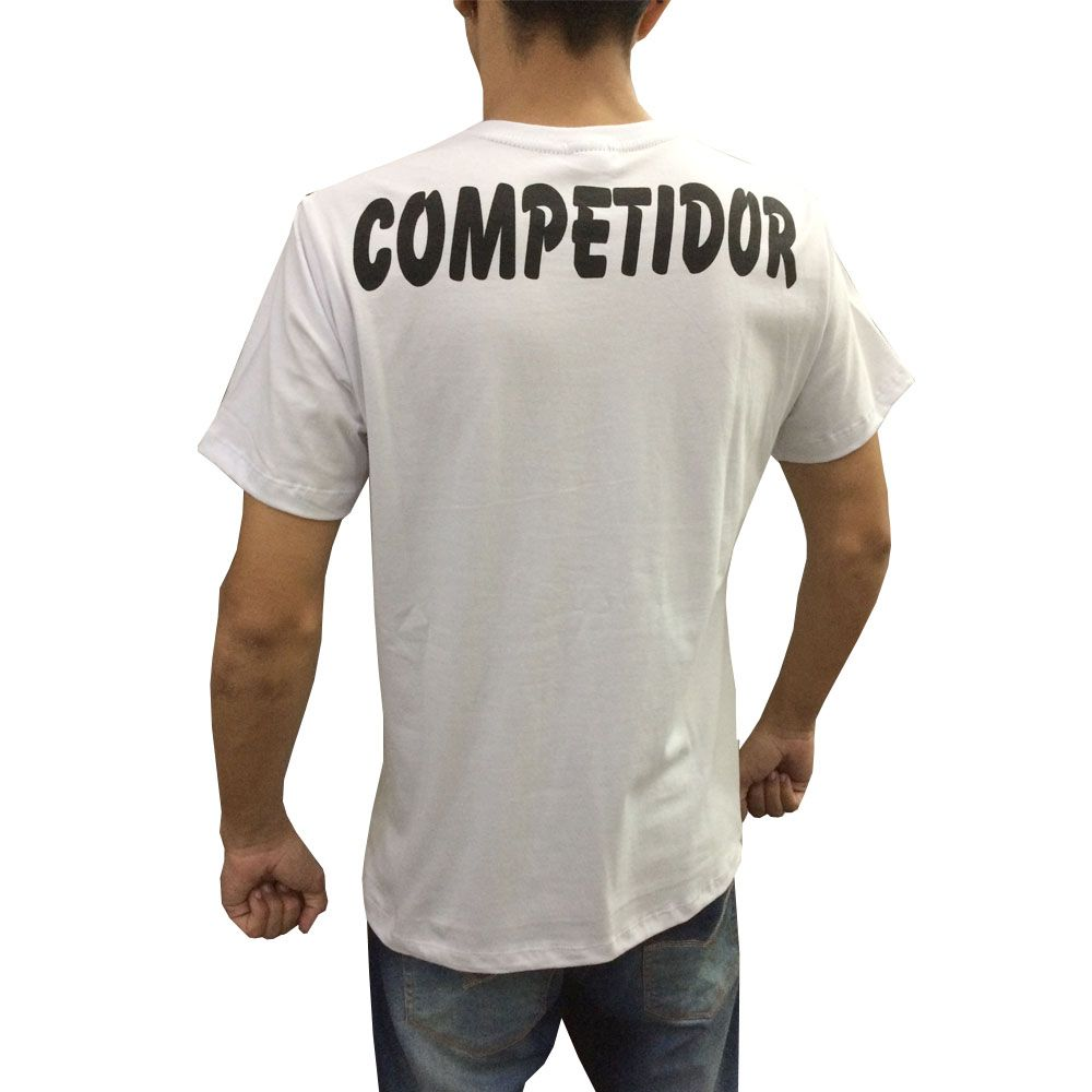 Camisa Camiseta MMA Competition - Branco - Duelo Fight  - Loja do Competidor
