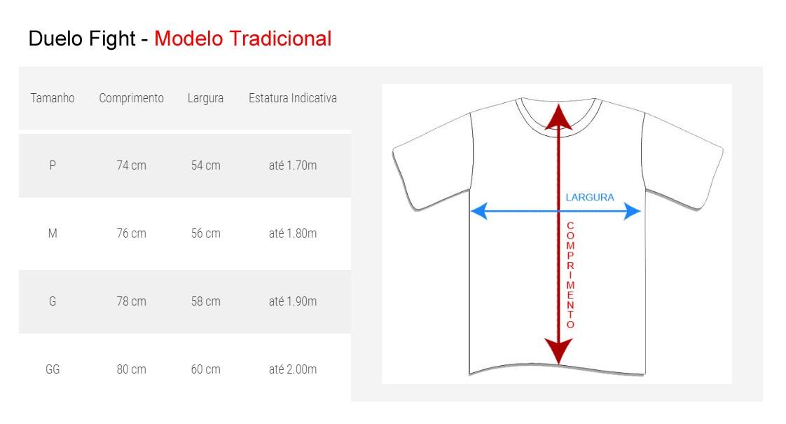 Camisa/Camiseta - MMA Competition- Branco - Duelo Fight .  - Loja do Competidor