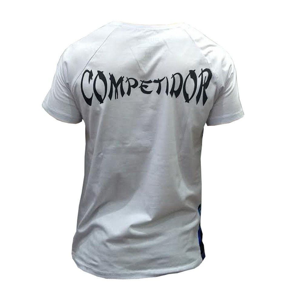 Camisa/Camiseta - MMA Fighting Series - Branco/Azul - Duelo Fight  - Loja do Competidor