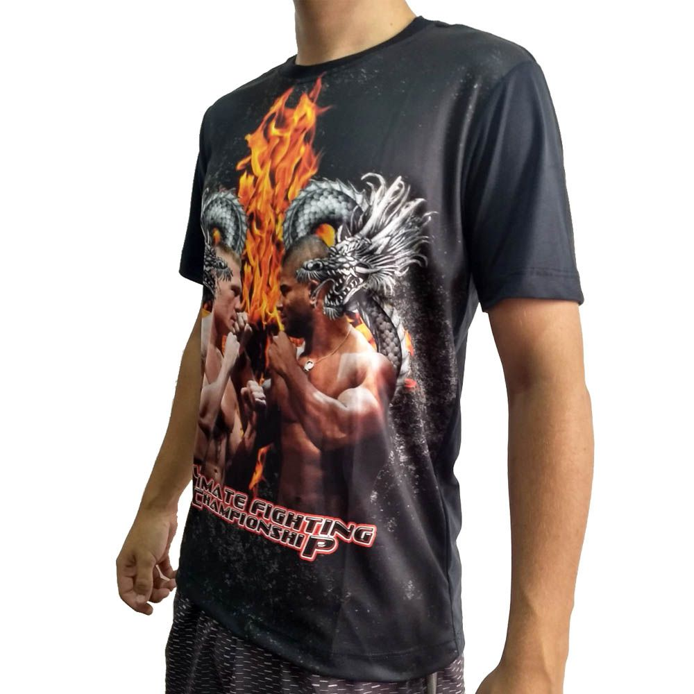 Camisa Camiseta MMA - Overrem x Lesnar - John Brazil  - Loja do Competidor