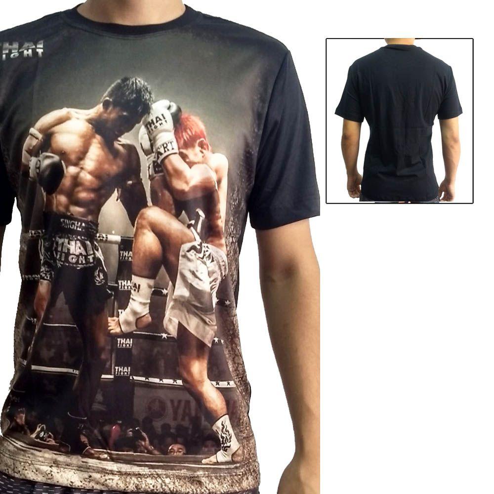 Camisa Camiseta Muay Thai  - Buakaw - John Brazil