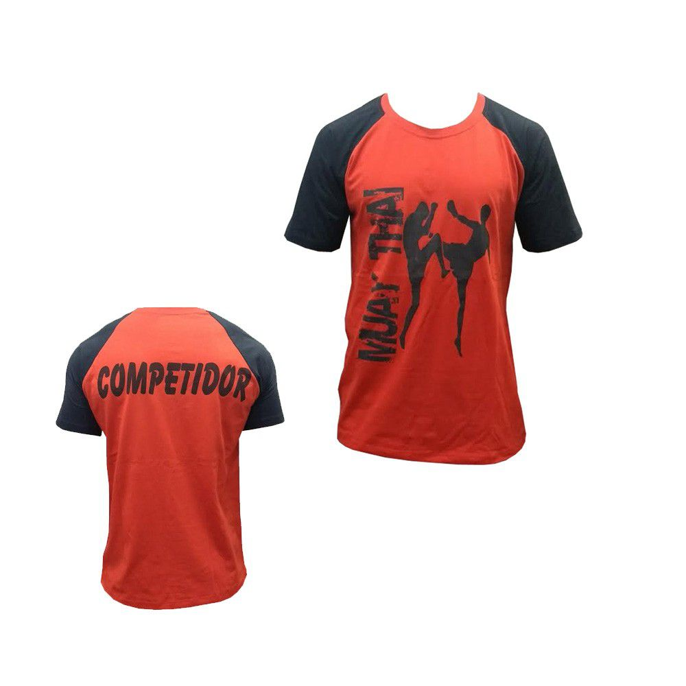 Camisa Camiseta Muay Thai Competidor - Duelo Fight -