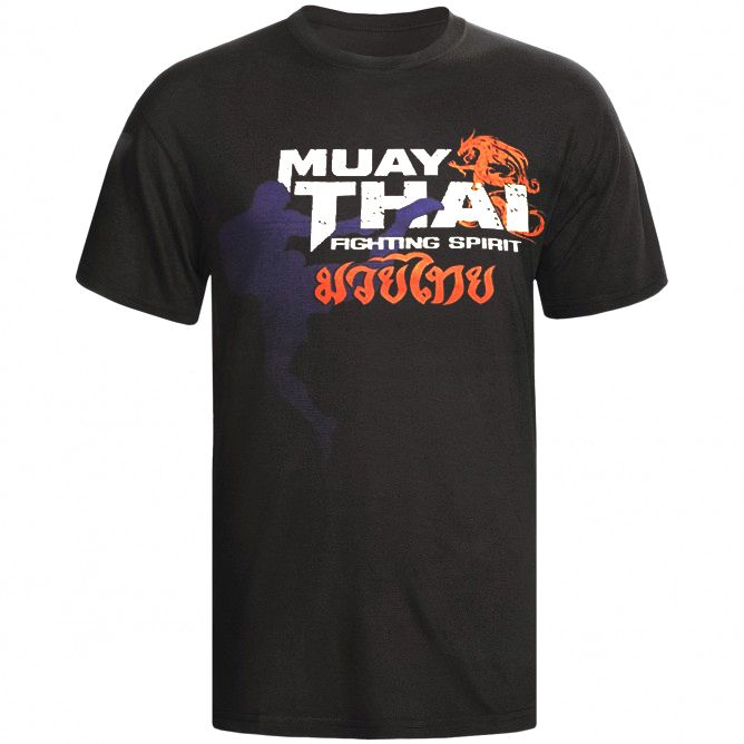Camisa Camiseta - Muay Thai Dragon Spirit - Toriuk -