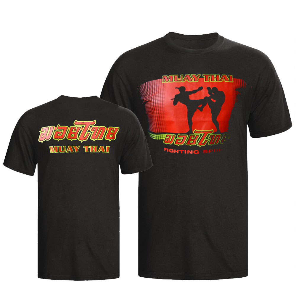 Camisa/Camiseta - Muay Thai Fighting Spirit - Toriuk