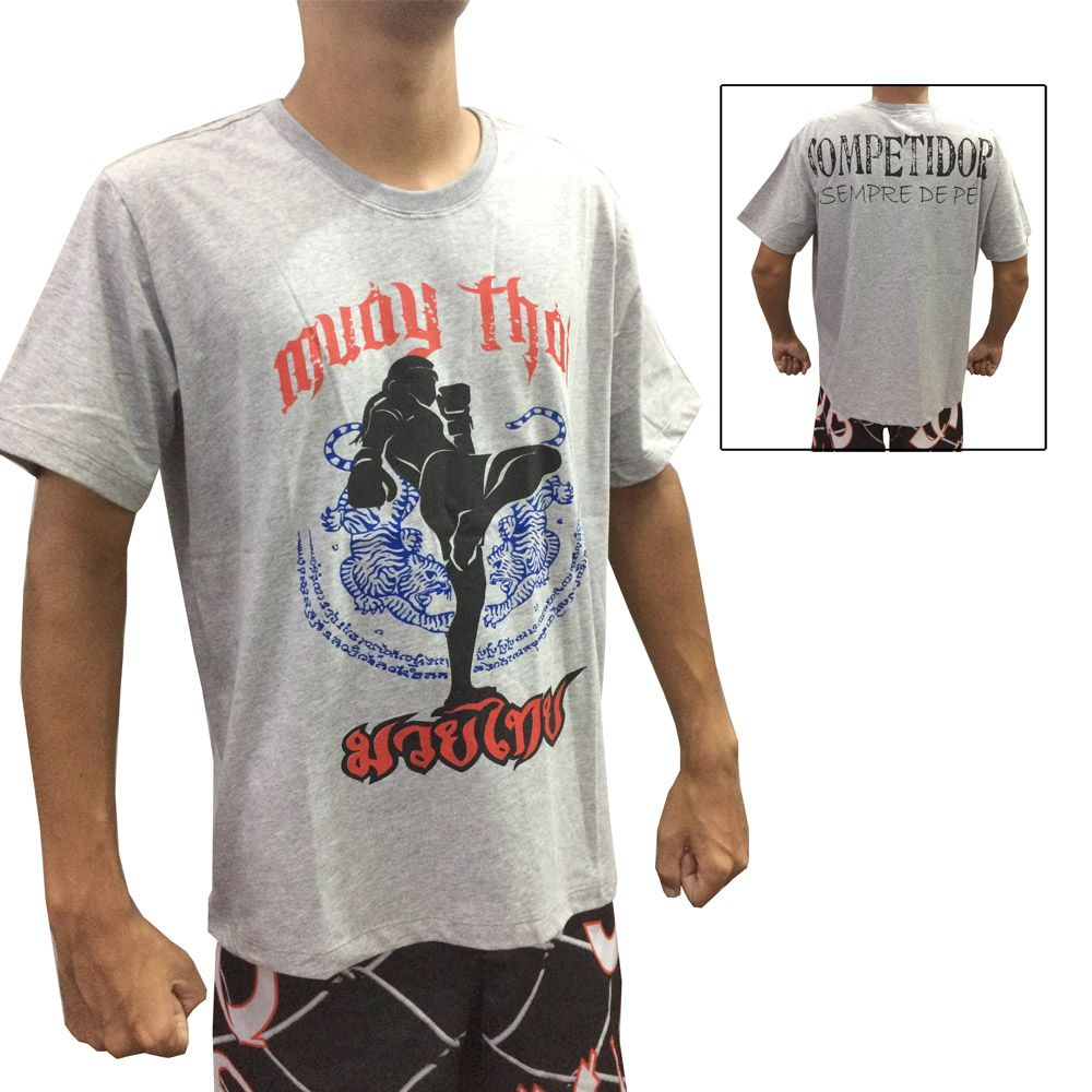 Camisa Camiseta Muay Thai - Khao Trong - Duelo Fight