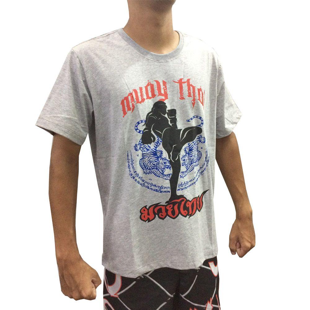 Camisa Camiseta Muay Thai - Khao Trong - Duelo Fight  - Loja do Competidor