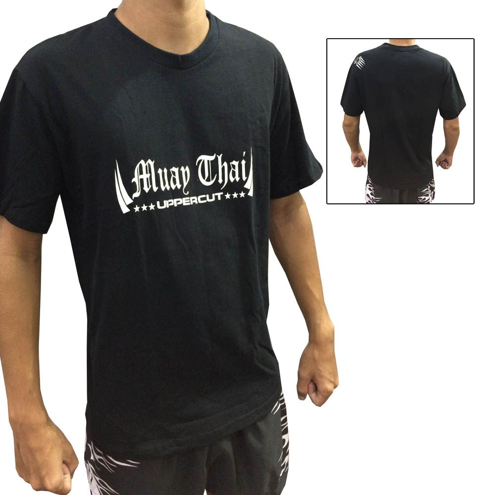 Camisa Camiseta Muay Thai King - Preto - Uppercut - ULTIMA -