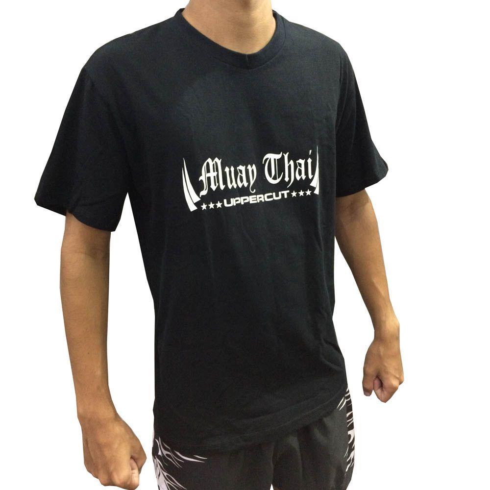 Camisa Camiseta Muay Thai King - Preto - Uppercut - ULTIMA  - Loja do Competidor
