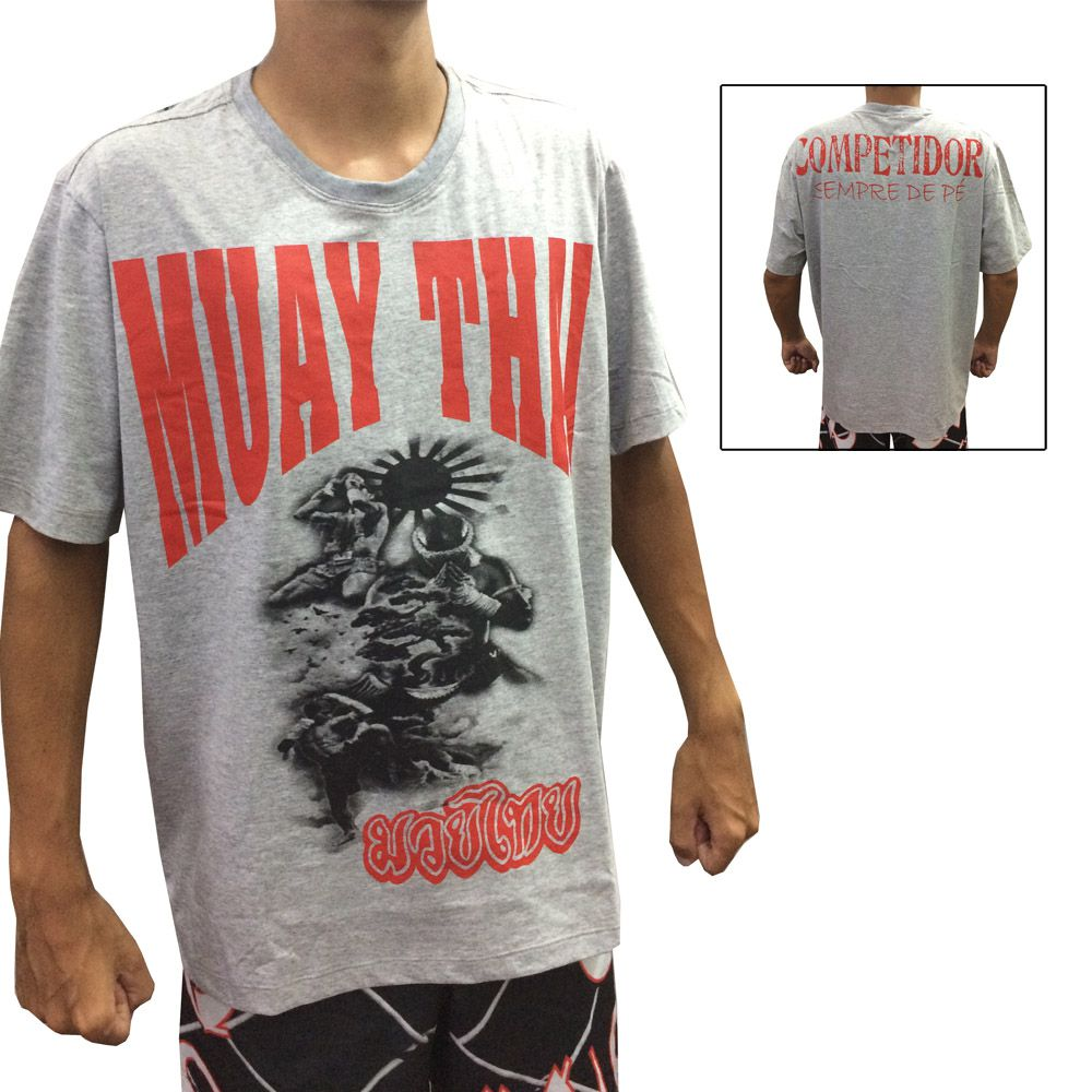 Camisa Camiseta Muay Thai - Lutadores - Duelo Fight