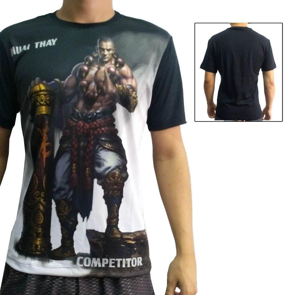 Camisa Camiseta Muay Thai Monk - John Brazil