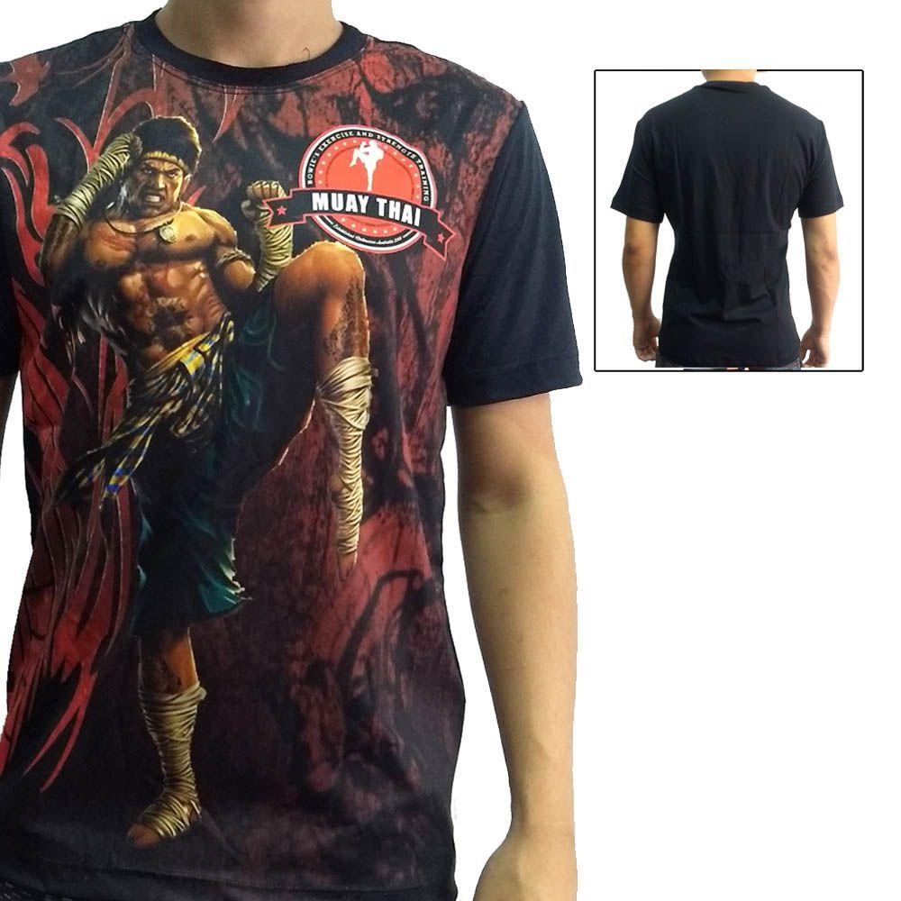 Camisa Camiseta Muay Thai  - Ong Bak - John Brazil
