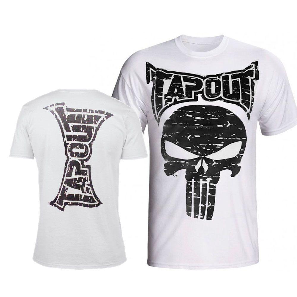 Camisa/Camiseta - Punisher - Branco - Tapout .