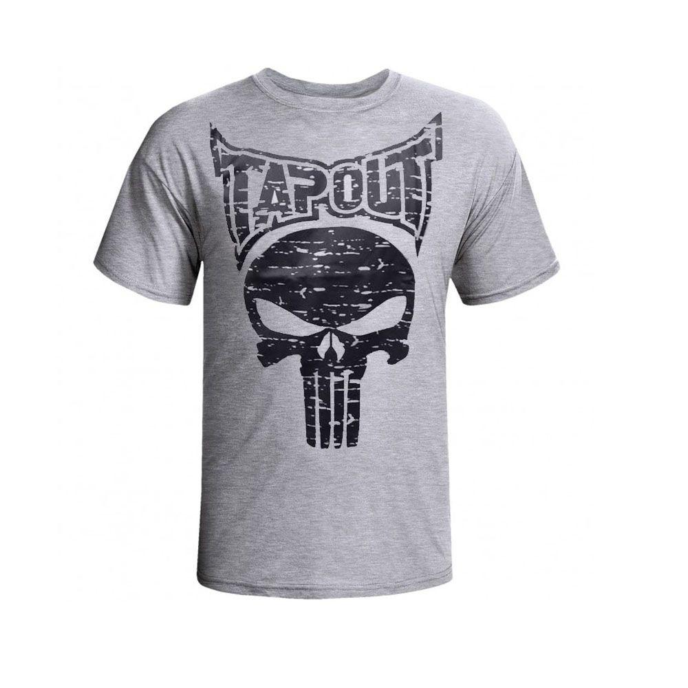 Camisa Camiseta - Punisher - Cinza - Tapout