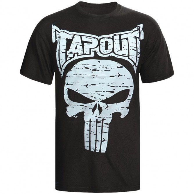 Camisa/Camiseta - Punisher - Preto - Tapout .  - Loja do Competidor