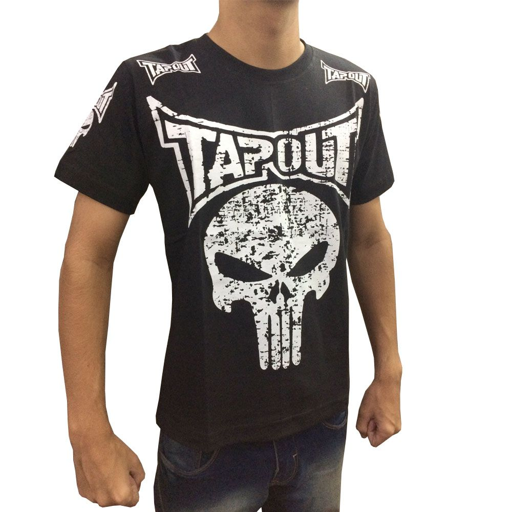 Camisa/Camiseta - Punisher - Preto - Tapout .  - Loja do Competidor