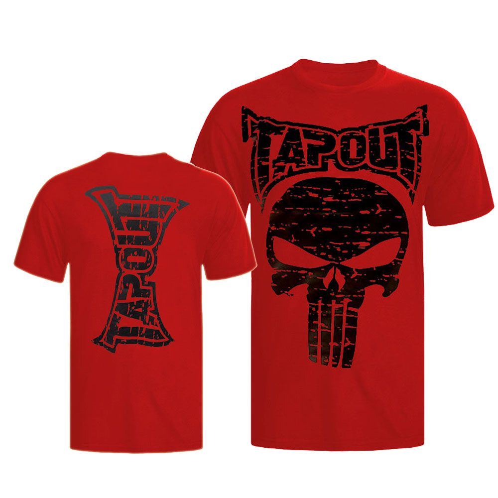 Camisa/Camiseta - Punisher - Vermelho - Tapout .