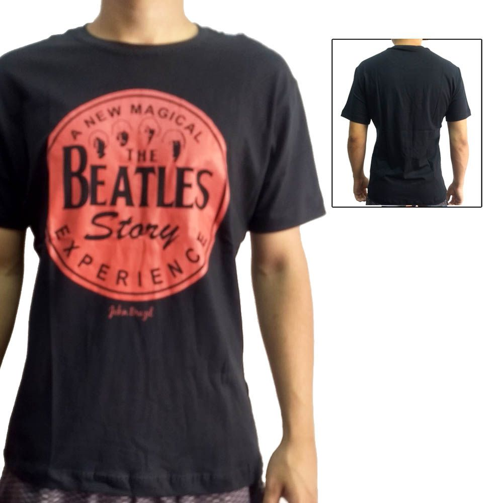 Camisa Camiseta Rock'n'Roll - Beatles Story - John Brazil