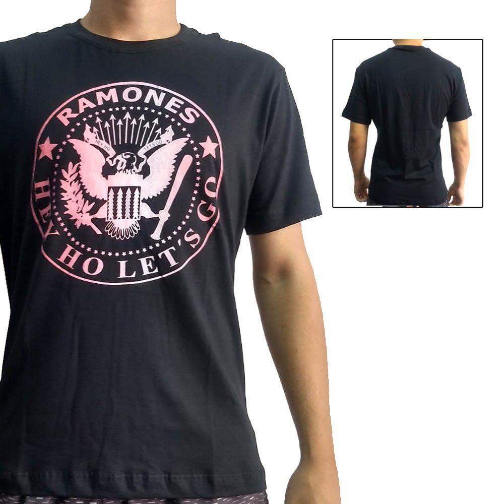 Camisa Camiseta Rock'n'Roll - Ramones - John Brazil