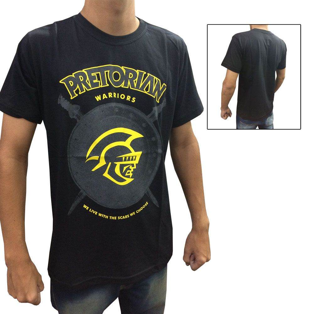 Camisa Camiseta - Shield - Preto - Pretorian -