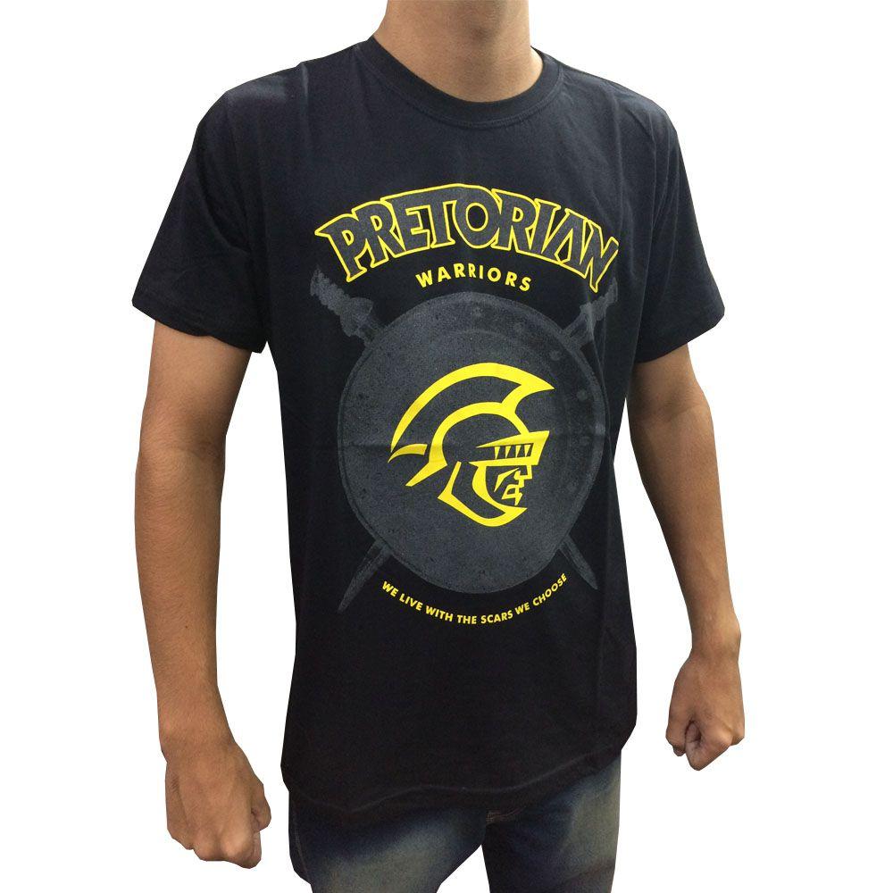 Camisa Camiseta - Shield - Preto - Pretorian -  - Loja do Competidor